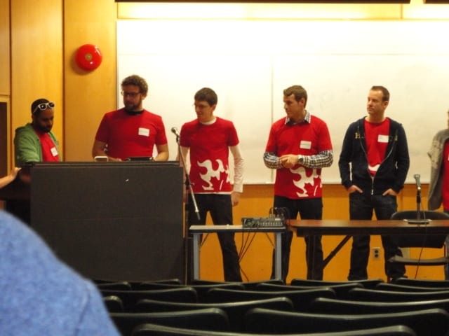 Organizers of PodCamp Toronto 2013, Karim Kanji, Rick Weiss, John Leschinski