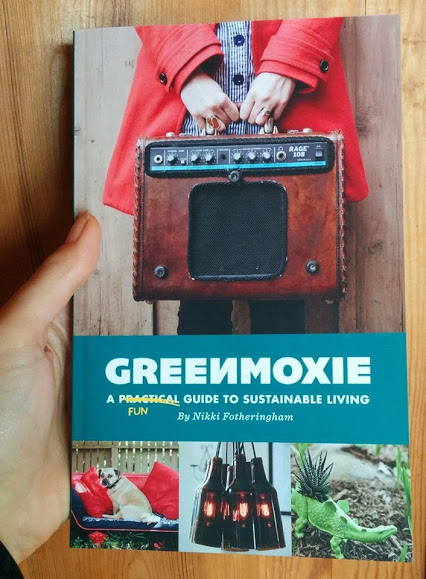 Greenmoxie book - sustainable living green